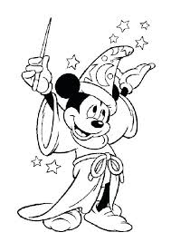 Printable Coloring Pages Disney Cars Free Characters Mickey Mouse Page More