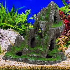 aquarium deko fels mit höhle