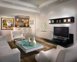 decorations modern living room decor with unique ceiling track