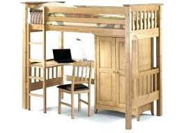 double loft bed with desk underneath – act4
