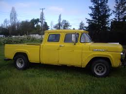 1960's Ford Crew Cab | Vehicles And Ideas | Pinterest | Ford, Ford ... Truck Of The Year Winners 1979present Motor Trend 1950 Ford F1 Classics For Sale On Autotrader 10 Classic Pickups That Deserve To Be Restored Trucks Bodie Stroud 1956 F100 Restomod Is Lovers Dream Old Photograph By Brian Mollenkopf For Edward Fielding 1977 Ford Crew Cab 4x4 Old Sale Show Truck Youtube 53 Pickup Kindig It