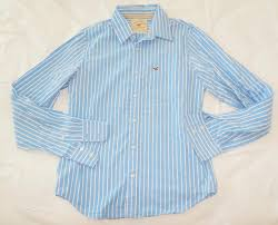 new men u0027s hollister striped dress shirts size l three styles