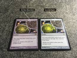 Mtg Deck Testing Online by Differences Between Mtg Original Cards White Blue Black Core