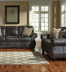 Levon Charcoal Sofa And Loveseat by Breville Charcoal Sofa Set Lexington Overstock Warehouse Charcoal