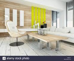 rustikale holz furnierbild wohnzimmer interieur mit