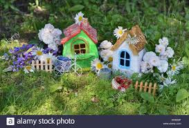 100 Small Beautiful Houses Two Small Beautiful Houses With Garden Flowers And Summer