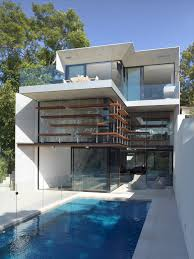 104 Housedesign This House Design On Sloped Land Highlights All Benefits Of Hillside Homes Architecture Beast
