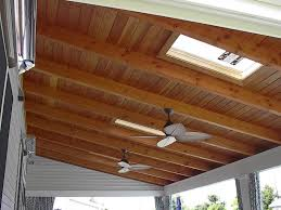 Vaulted Ceiling Joist Hangers by Want To Install An Outdoor Ceiling Fan Directly To Exposed 2x4 On