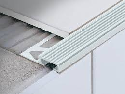Wood Stair Nosing For Tile by Clip System Stair Nosing Profile For Ceramic Laid Steps Stairtec