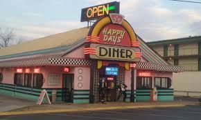 Happy Days Diner in Pigeon Forge Tennessee