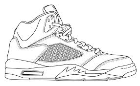 Air Jordan Printable Color Page