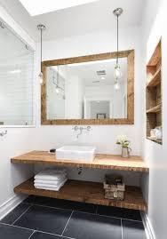 Small Bathroom Vanity Ideas by Best 25 Wood Vanity Ideas On Pinterest Reclaimed Wood Vanity