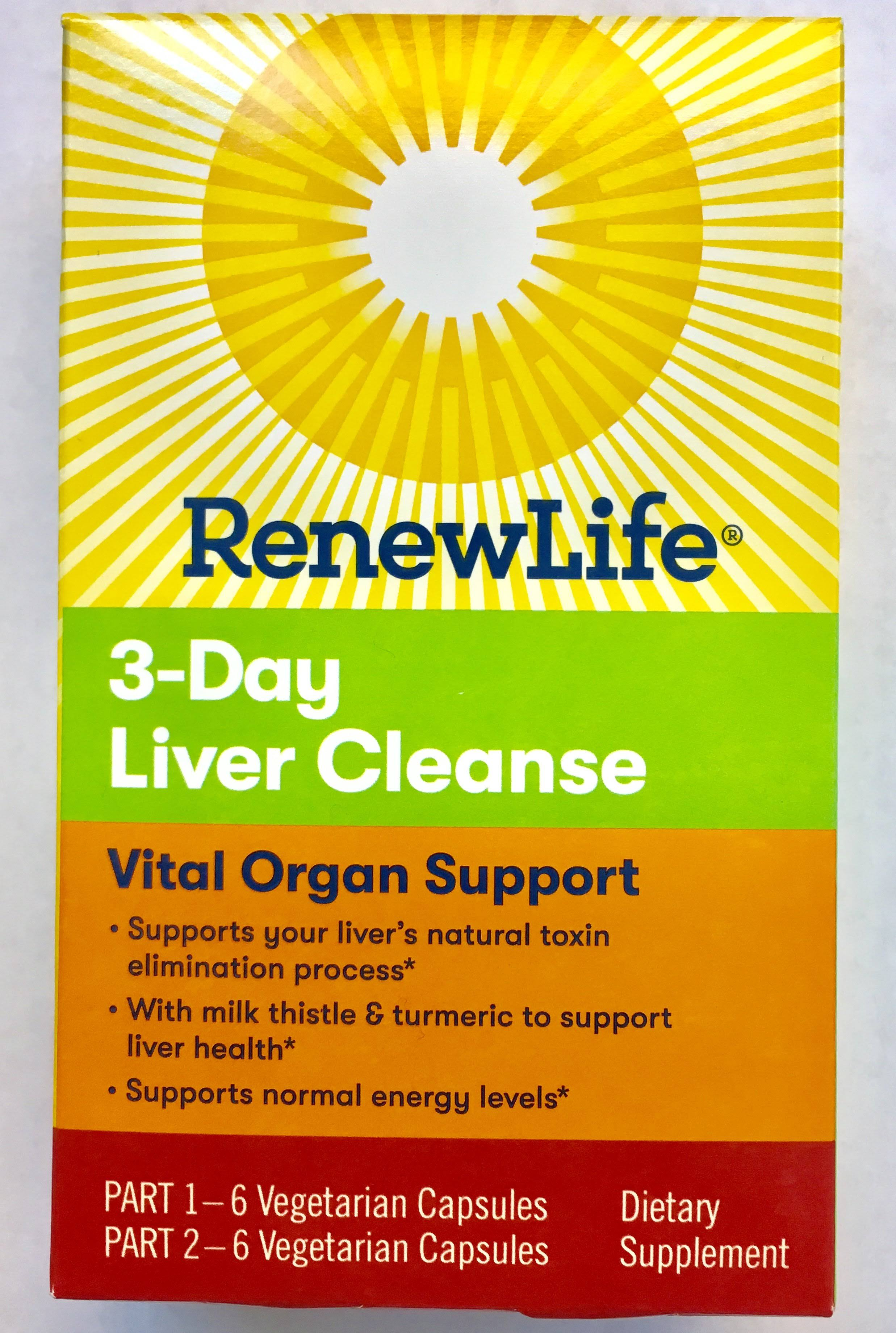 Renew Life 3 Day Liver Cleanse - Vital Organ Support