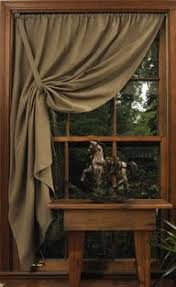 DIY CURTAINS SHADES Simple Window Covering Shaker Pullback Curtain That Uses Half As Many Panels Per Home Improvement Ideas Stealing The