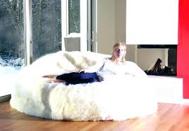 Giant Fluffy Bean Bag Big Chair Large Of Awesome Chairs
