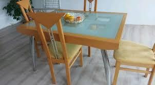 esszimmertisch set mit le und 12 stühle