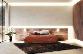 indirekte beleuchtung schlafzimmer an wand decke mit led