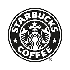 Starbucks Coffee Black Vector Logo Free