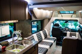 Modern Rv Interiors Behind The Scenes Louisville Show Interior Wood Cladding Ideas