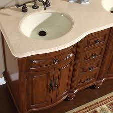 Mesa 48 Inch Double Sink Bathroom Vanity by Amazon Com Silkroad Exclusive Marble Stone Top Double Sink