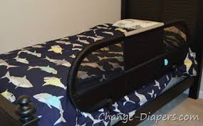 stylish washable portable bed side rail from babyhome