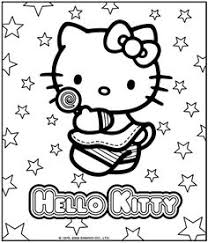 Pictures Of Hello Kitty Coloring Pages Games