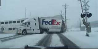 100 Where Is The Fedex Truck A Train Just Obliterated A FedEx In Utah After A Signal