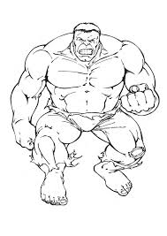 Draw Hulk Coloring Pages 89 On Download With