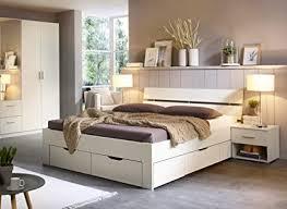 rauch möbel ryba bett stauraumbett mit 4 schubkästen und nachttisch in weiß liegefläche bett 180x200 cm gesamtmaße bxhxt 232x88x215 cm