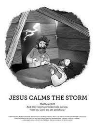 Jesus Calms The Storm Sunday School Coloring Pages Your Kids Are Going To Love Unleashing