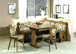 Booth Style Dining Set Kitchen Table Corner Furniture Sets