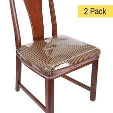 Amazon.com: Houseables Chair Seat Covers, Plastic Cover, Fits 16 ... Ding Chairs Clear Plastic Chair Cover Full Size Of Handmade Dcor Meditation Pillows At Abc Carpet Home How To Reupholster A Seat With Pictures Wikihow Cushions Throw Pillows Decor Simons Outdoor The Depot To Sew Box Cushion Super Easy Tutorial A Butterfly House 9 Best Sofa Covers In 2019 Toprated Couch Slipcovers Accsories Accent Online Turks Set Glass Top Wooden Leather Fabric John Lewis