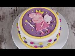 entstehung einer peppa wutz torte fondant cake tutorial peppa pig