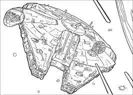 Star Wars Ship Coloring Page Super Pic