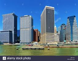 100 New York Pad Helicopter Pad At Lower Manhattan In USA On East River