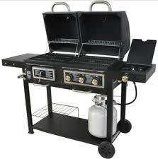 Brinkmann Outdoor Electric Grill by Brinkmann 3 Burner Dual Function Gas Charcoal Grill Patio Outdoor