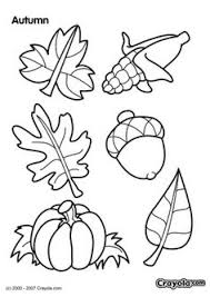 FREE Crayola Autumn Leaves Coloring Page
