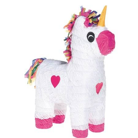 White Unicorn Pinata Birthday Party Supplies