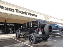 100 Texas Truck Works Works JK Unlimited 4x4 With Rough Country Suspension