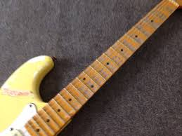 FD Malmsteen Tribute Relic Electric Guitar Handmade Cream Color Scalloped Fingerboard Heirloom Aged Collector In From Sports Entertainment