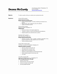 Entry Level Information Technology Resume With No Experience Lovely Phlebotomy Examples Of Resumes
