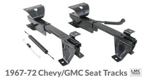 Bench Seat Tracks For 1969-72 Chevy & GMC Trucks - LMC Truck ... Aftermarket Seats For Chevy Trucks C10 Truck Install A Split 6040 Bench Seat 7387 R10 Bucket New 1968 Stepside Custom Interior Red 1994 Silverado Parts Schematic House Wiring Diagram Symbols 196772 Gmc 3 Point Belts Gm Latch Replacement And Van Search Chevrolet Pickup C10cheyennescottsdale Covers Used Prepping Cab Mounting Hot Rod Network 55 Truckmrshevys Seat Youtube Procar Low Back Buckets Pinterest Luxury Car Suv Pu Leather