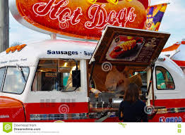 100 Universal Food Trucks Hot Dogs Shop On Red Truck Universal Studio Japan Editorial Image