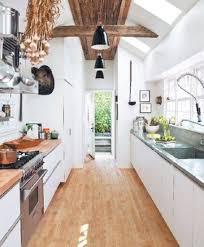 Stunning Modern White Galley Kitchen