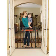Summer Infant Decor Extra Tall Gate Instructions by Regalo Home Accents Extra Tall Walk Thru Gate Hardwood And Steel