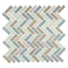 american olean royal palm linear mosaic and glass wall tile