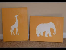 DIY Nursery Art Budget Decor