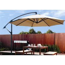 Patio Umbrella Covers Walmart by Patio 10 U0027 Hanging Umbrella Off Set Outdoor Parasol 4 Colors