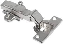 hkb eckscharnier topfscharnier 95 für eckschränke und vorliegende türen topf ø 35 mm 45 kröpfung 0 mm stahl vernickelt 1 stück 9125528