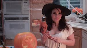 Halloween Pumpkin Carving With Drill by Pumpkins And Power Drills Youtube